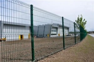 Amazon Fulfilment Centre Mesh Fencing