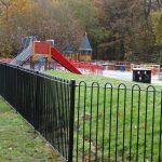 Park Steel Railings