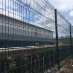 2.4m High IAE V Mex Mesh Panel Fencing