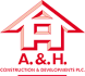A & H Construction Logo