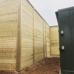 Acoustic Fencing Panel Installed Around Generator