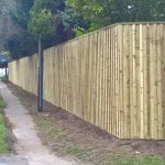 Acoustic Fencing Installed Alongside Road