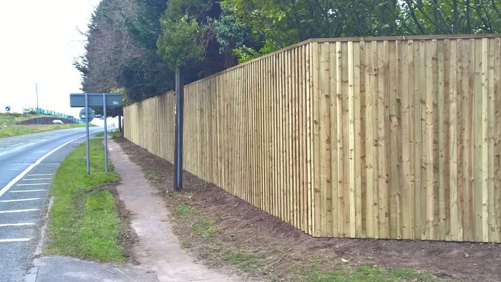 Domestic Acoustic Fencing Soundshield Nff East Sussex