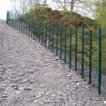 Mesh Panel Fencing Protecting Environment
