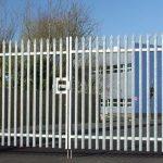 Palisade Steel Gate
