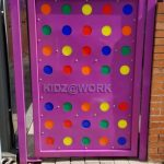 Colourful Entry Gate For Kids School