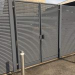 Steel Fencing With Gate