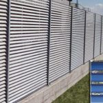 Steel Vented Fencing
