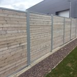 Wooden Fencing Reinforced With Steel