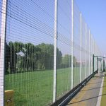 Steel Fencing Surrounding Play Area
