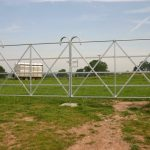 Manual Steel Gate For Horse Field