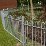 Steel Railings Protecting Foillage