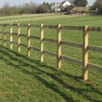 Timber Fence for Fields